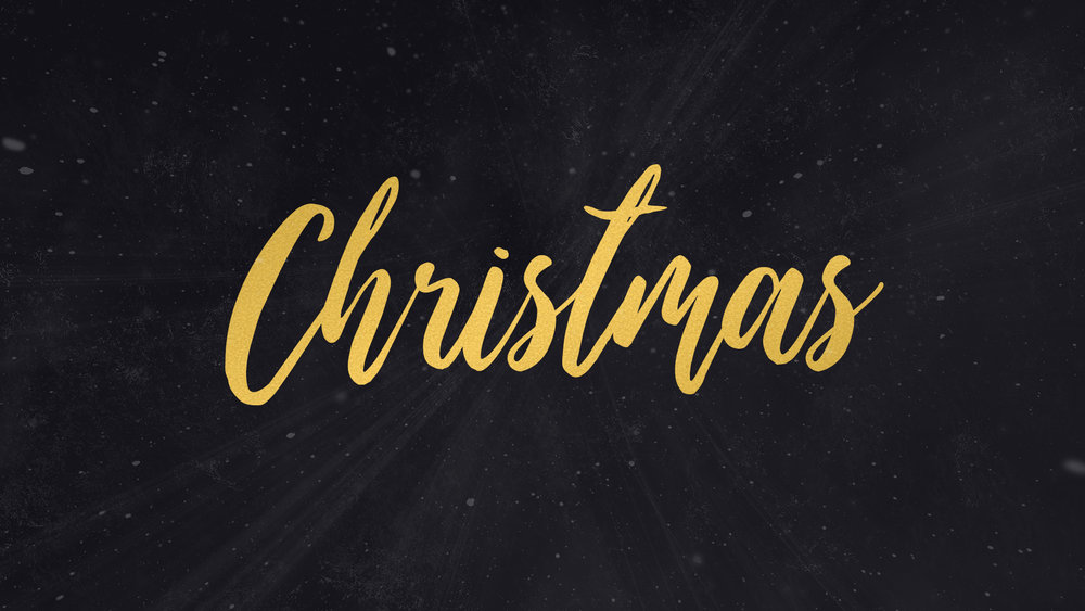 Elegant simple christmas church graphic