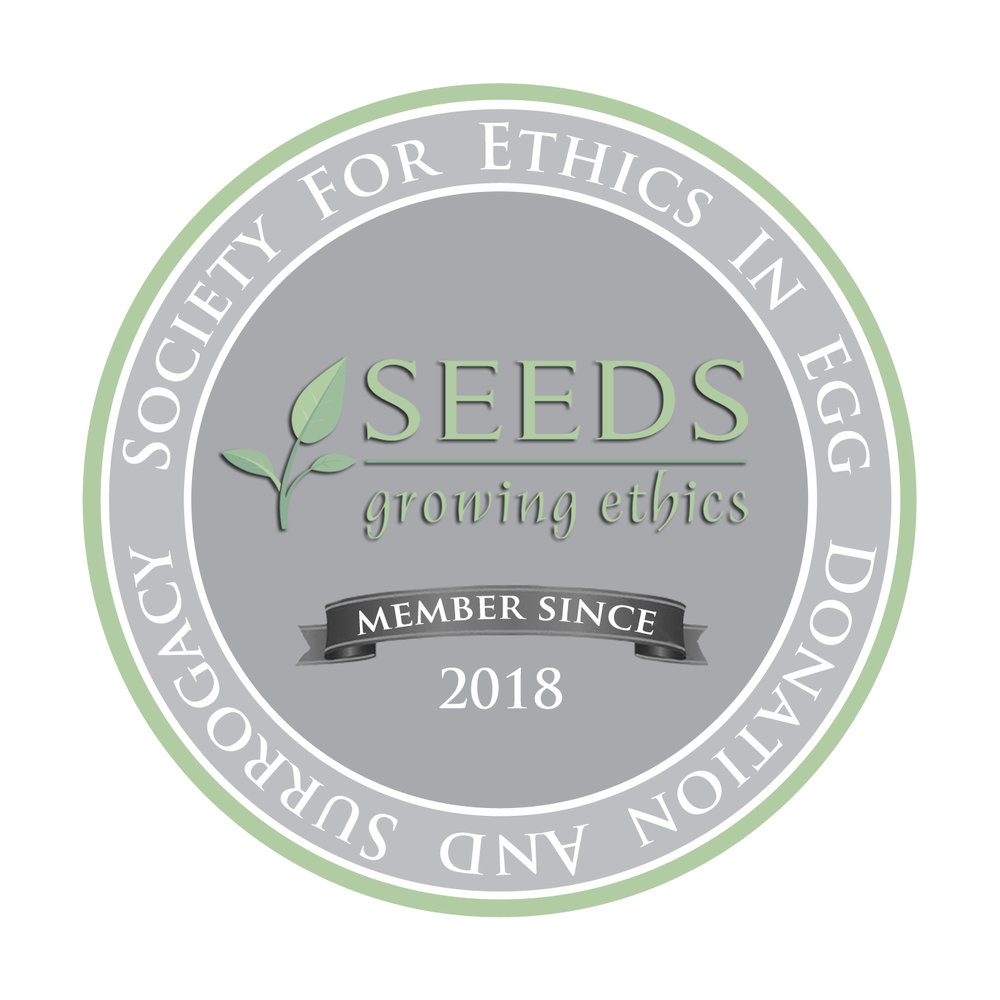 We are part of the SEEDS Union of Ethics for Egg Donors. We hold ourselves to the highest set of standards and ethics.