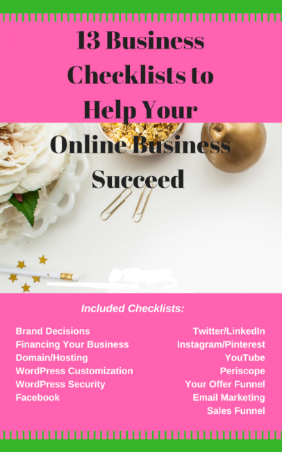 13 Business Checklists to Help Your Online Business Succeed.png