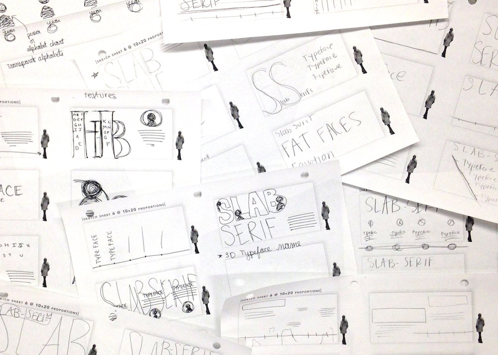 Our group began with research, sketches, and a lot of feedback from our peers.