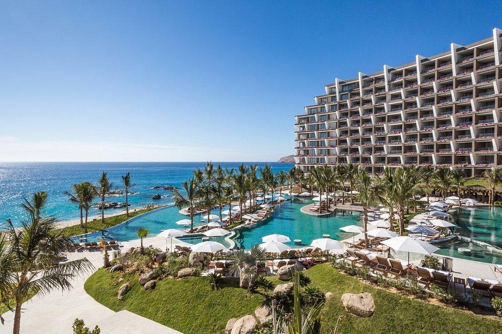 The beautiful Grand Velas Los Cabos Resort in Los Cabos, Mexico.
