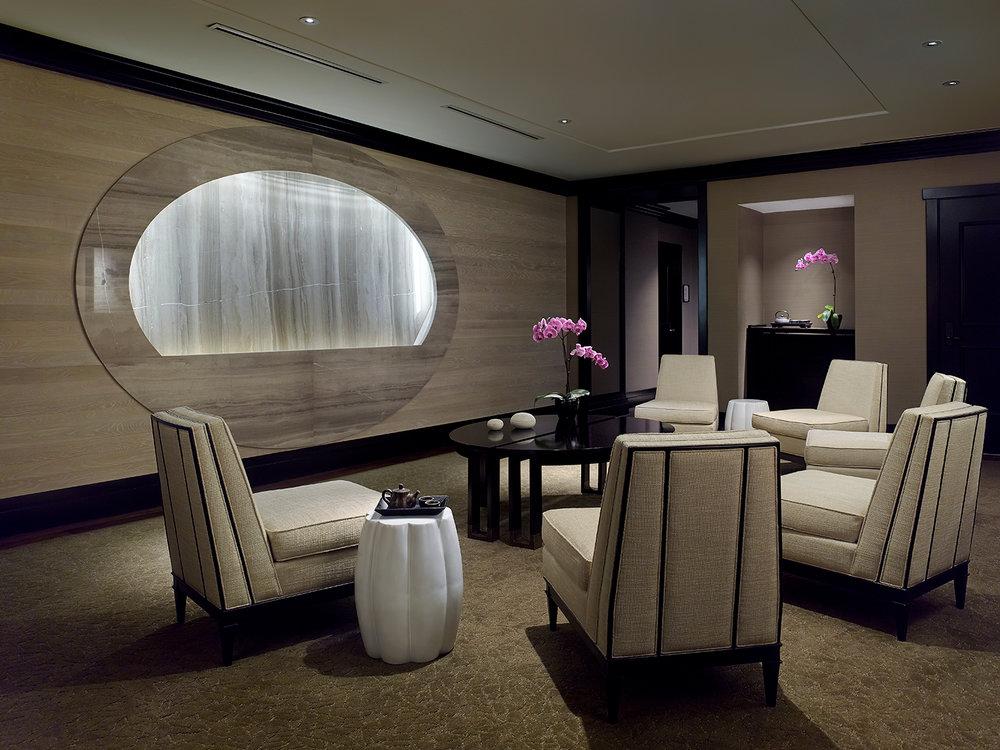 The Chuan Spa inner waiting room.