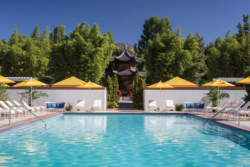 The pool at the Four Seasons Westlake Village.