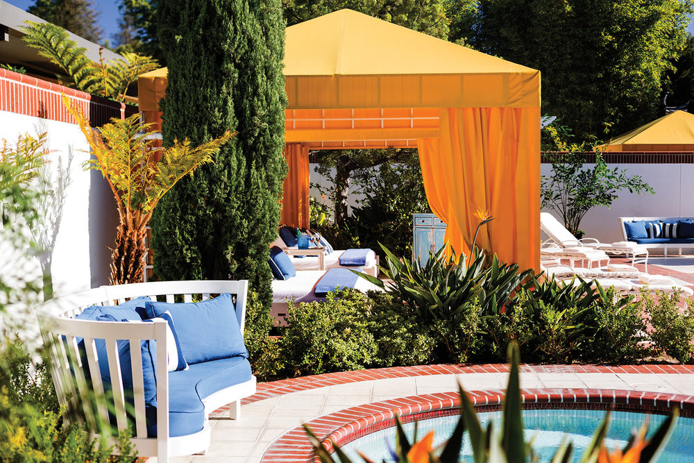 Outdoor relaxation at The Four Seasons Westlake Village.