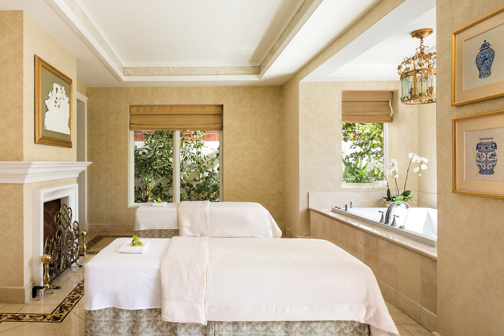 Spa Suite at the Four Seasons Westlake Village.