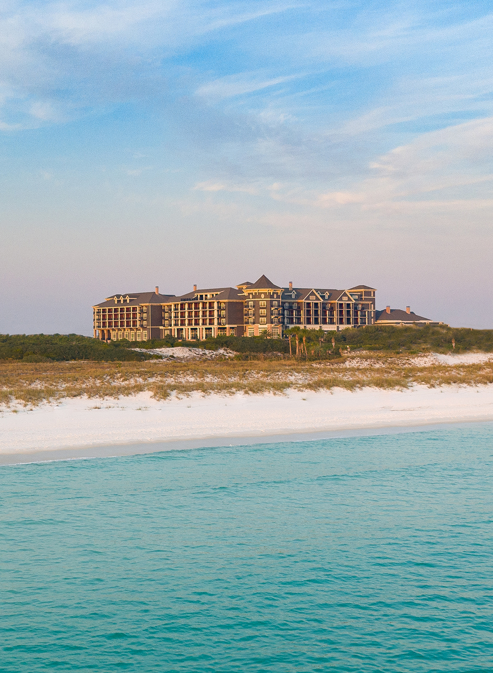 The Henderson Hotel in Florida --view from the beach