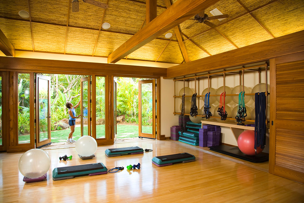 Guest at the Anara Spa in Kauai can enjoy fitness and wellness classes