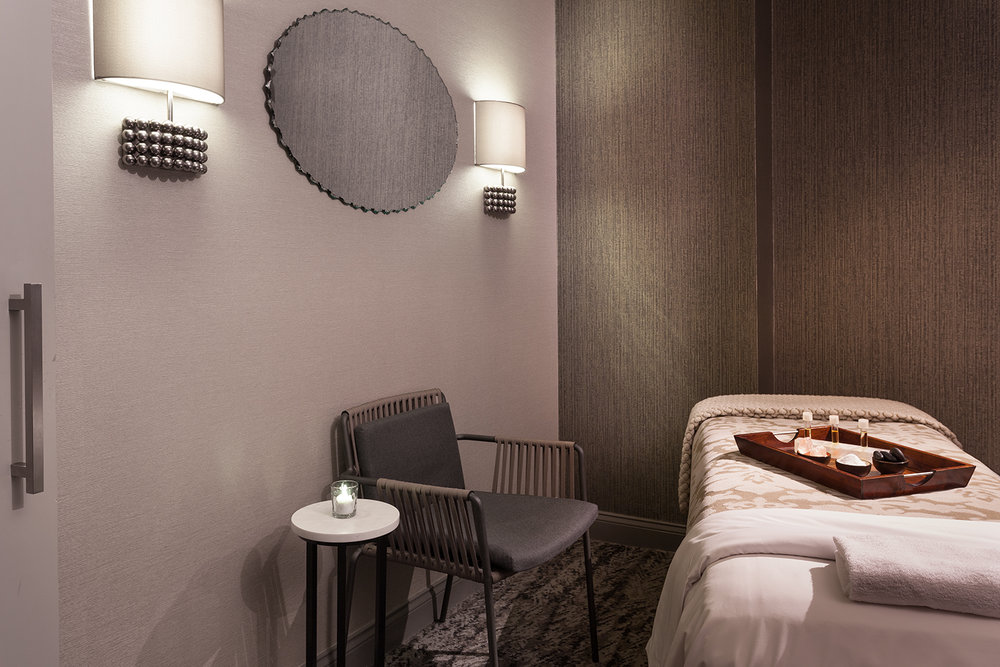 Treatment room at The Spa at Orlando World Center Marriott