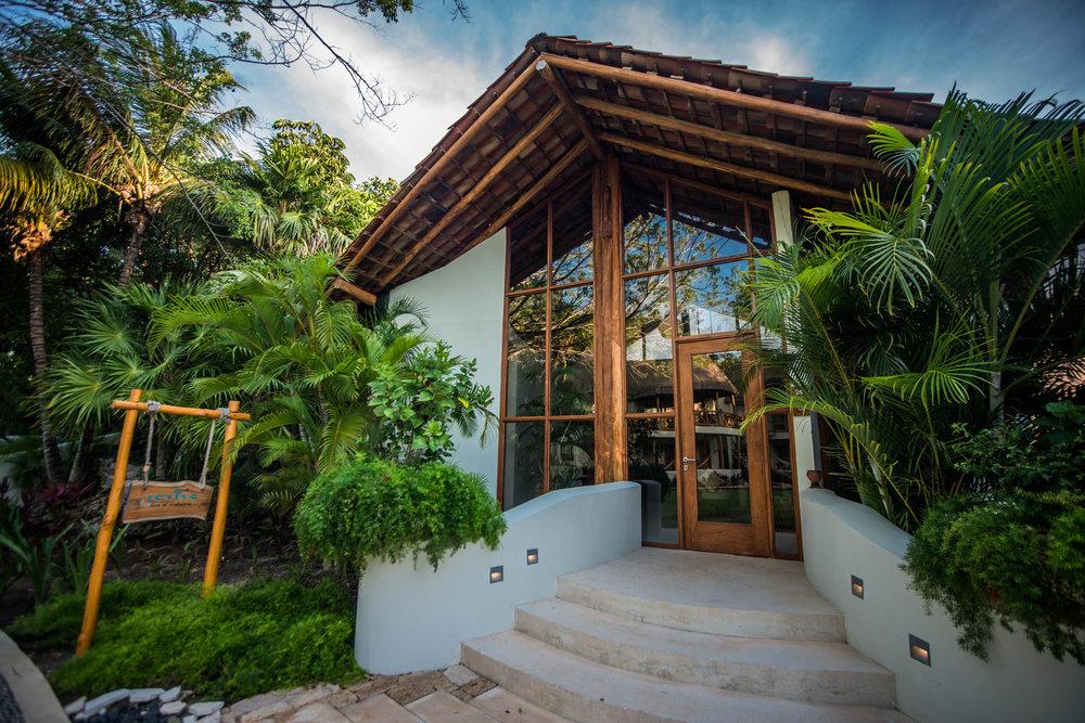 The Revive Spa at Mahekal Beach Resort in Playa del Carmen, Mexico.