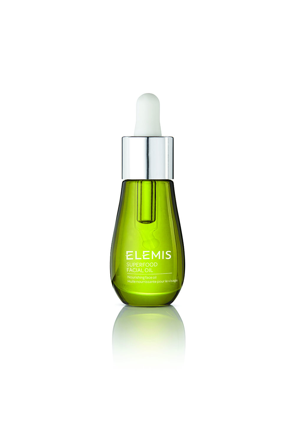 The ELEMIS Superfood Facial Oil ($55) gives skin a radiant, healthy glow.