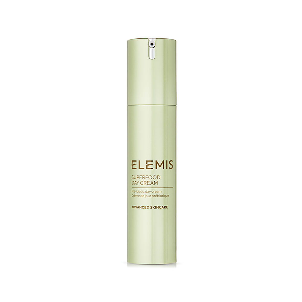The ELEMIS Superfood Day Cream ($45) moisturizes, brightens and enhances hydration.
