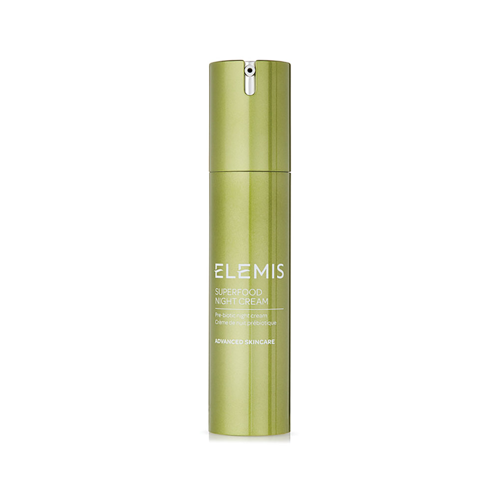 The ELEMIS Superfood Night Cream ($55) helps restore important nutrients in the skin.