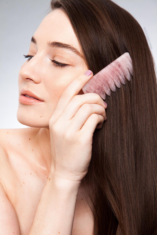 model combing hair.jpg