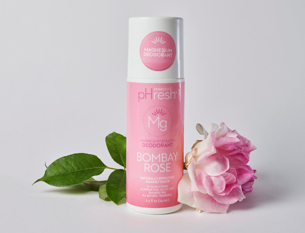 Bombay Rose Naturally Effective Deodorant, image courtesy of pHresh