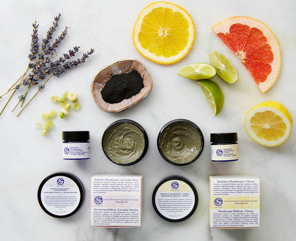 Sensitive Skin Deodorant Cream, courtesy of Soap-Walla