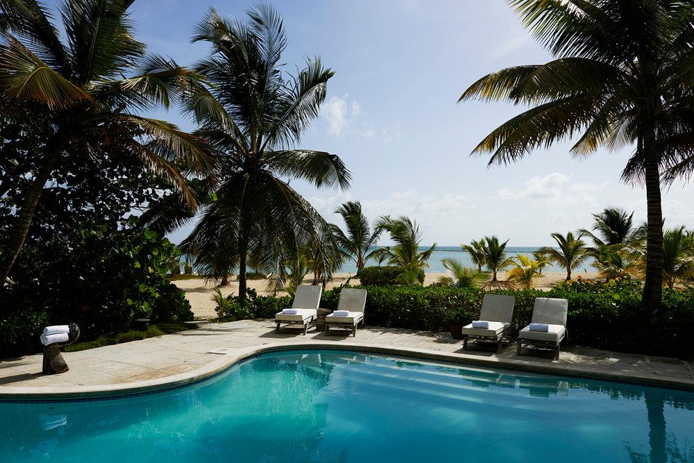 The Kamalame Cay swimming pool