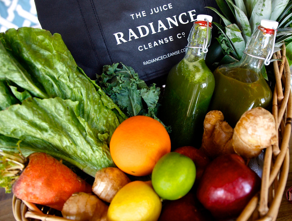 Retreat guests will enjoy fresh-pressed juices from Radiance Cleanse.