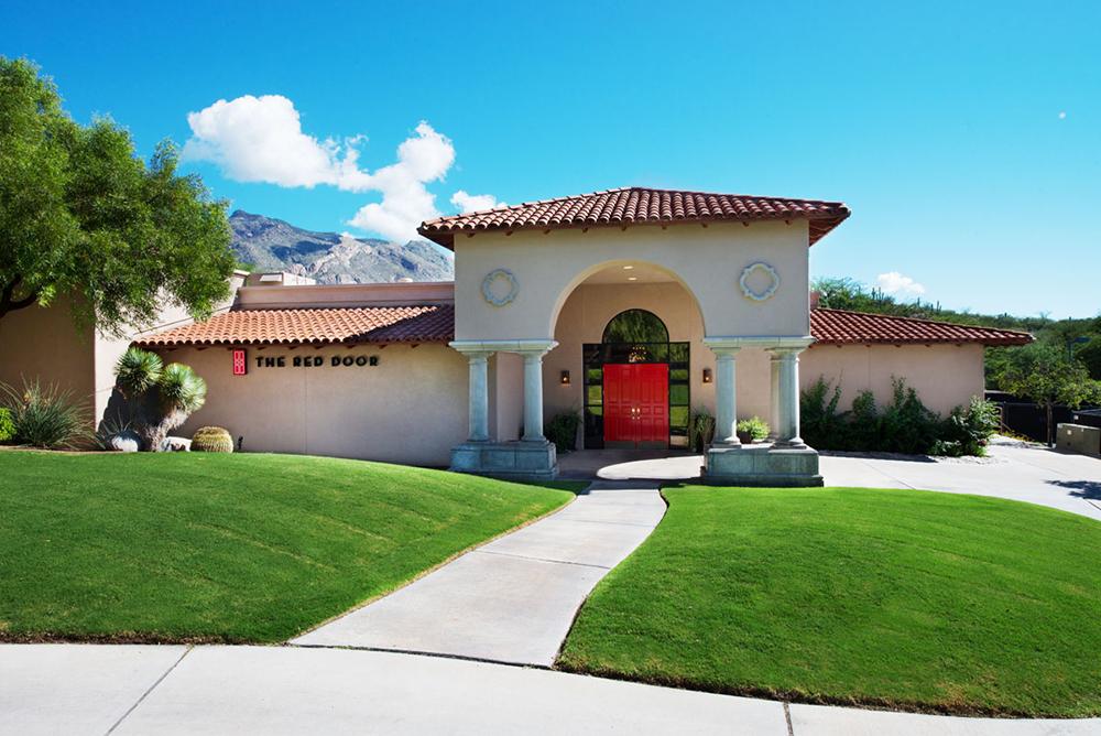 The Red Door Salon and Spa at the Westin La Paloma in Tucson, Arizona.