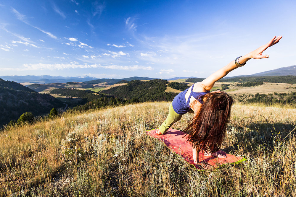Yoga, meditation, natural movement training and forest bathing are included on the list of activities.