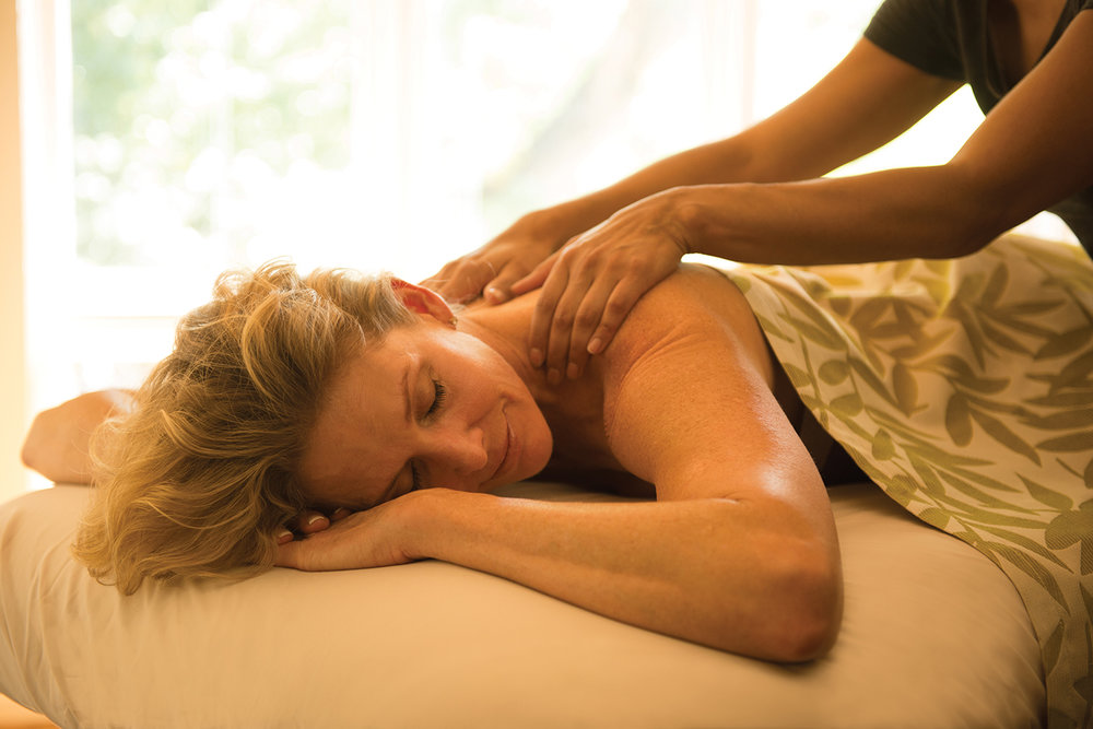 Sunrise Springs' massages blend ancient wisdom with modern techniques.
