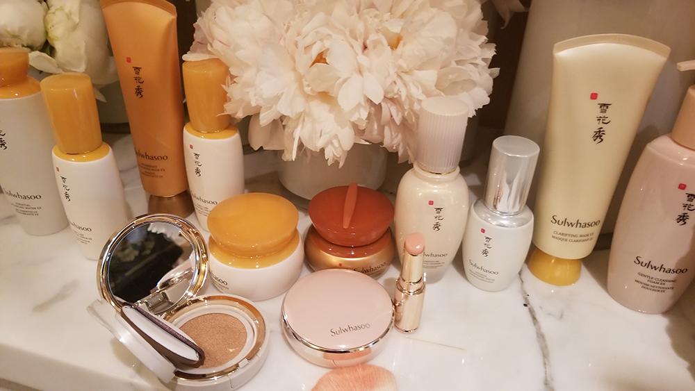 A selection of products from Sulwhasoo.