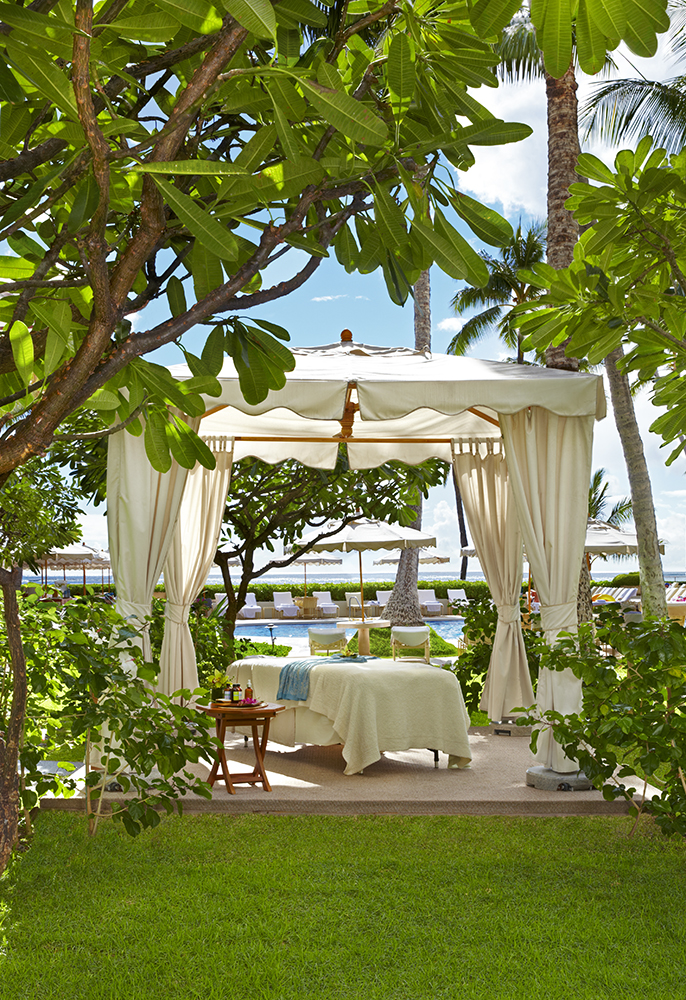 Massage Cabana at SpaHalekulani, Honolulu.