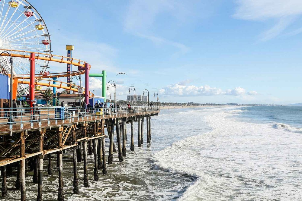Santa Monica ranks third on the list of most expensive California summer travel destinations.