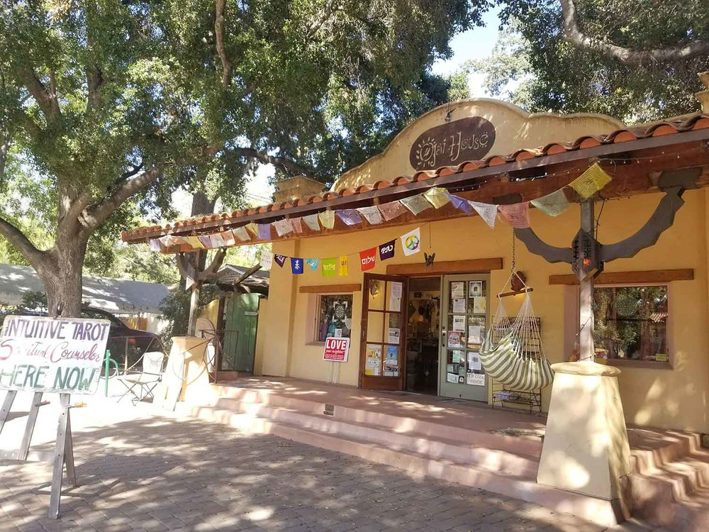 Ojai House, a new age crystal and gift shop in Ojai.
