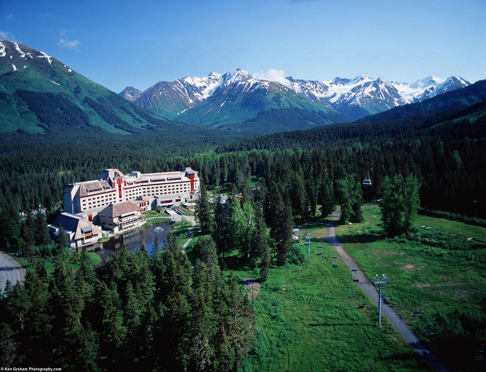 Alyeska Resort is a luxury wellness destination located along Alaska's south-central coast.