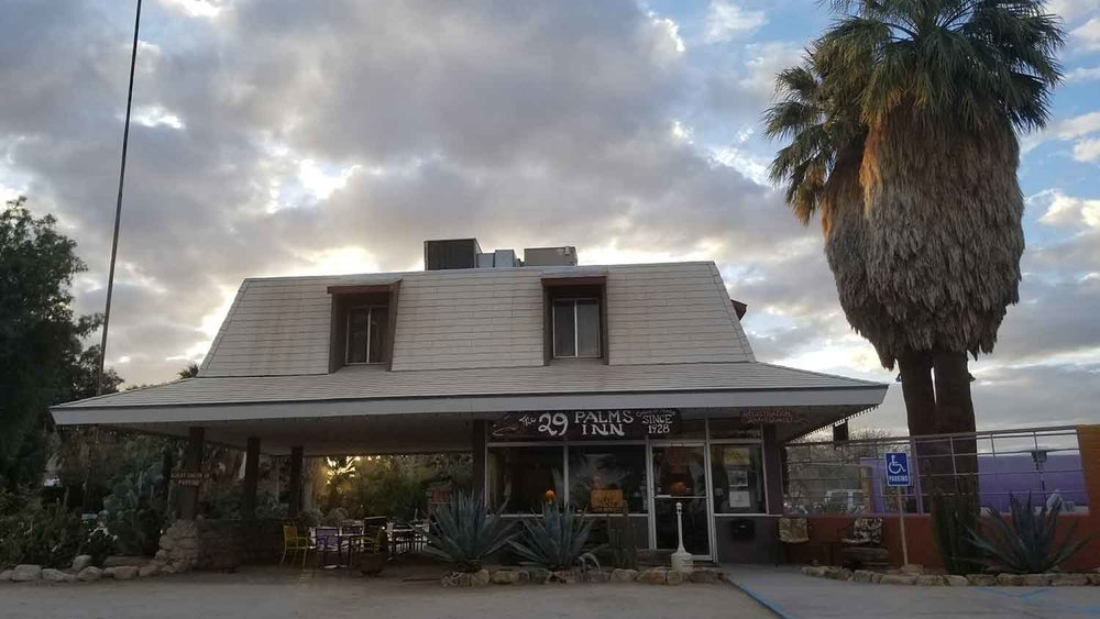 The 29 Palms Inn.