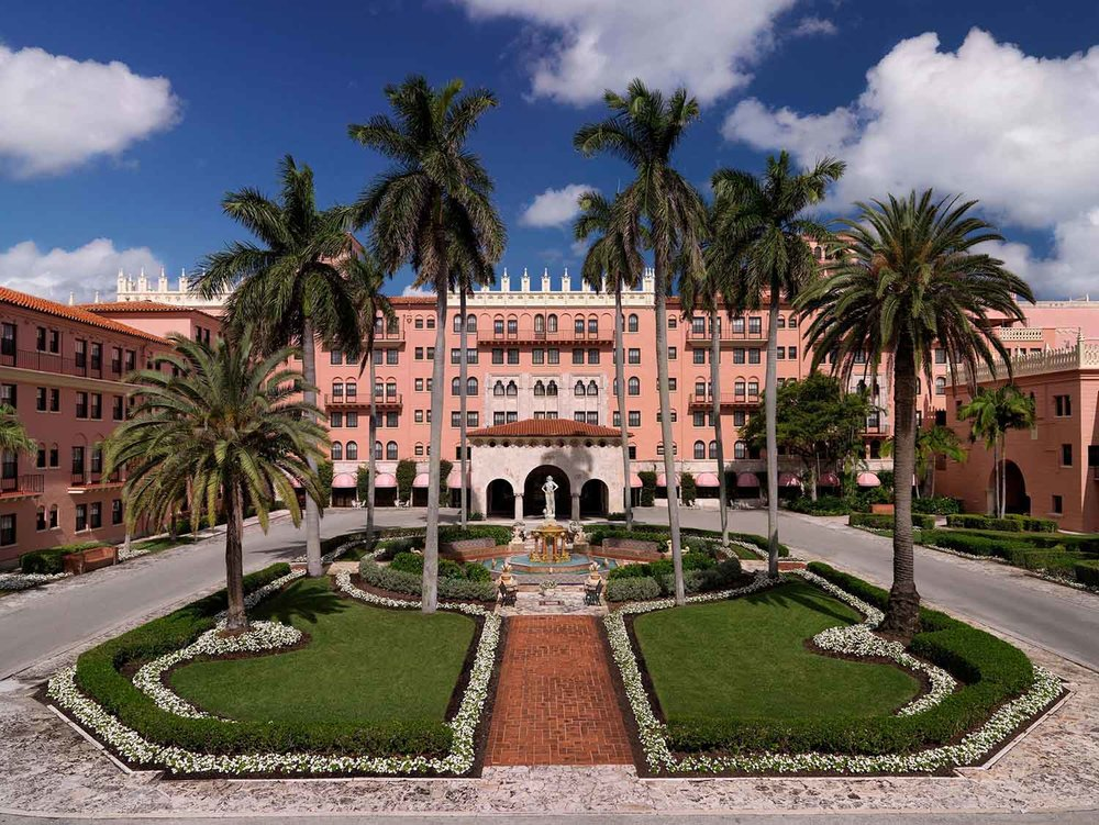 Boca Raton Resort & Club, A Waldorf Astoria Resort [Image courtesy of Discover the Palm Beaches].
