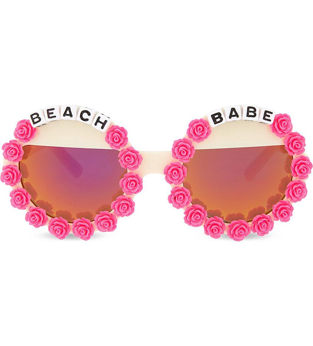 """Beach Babe"" sunglasses ($42)."
