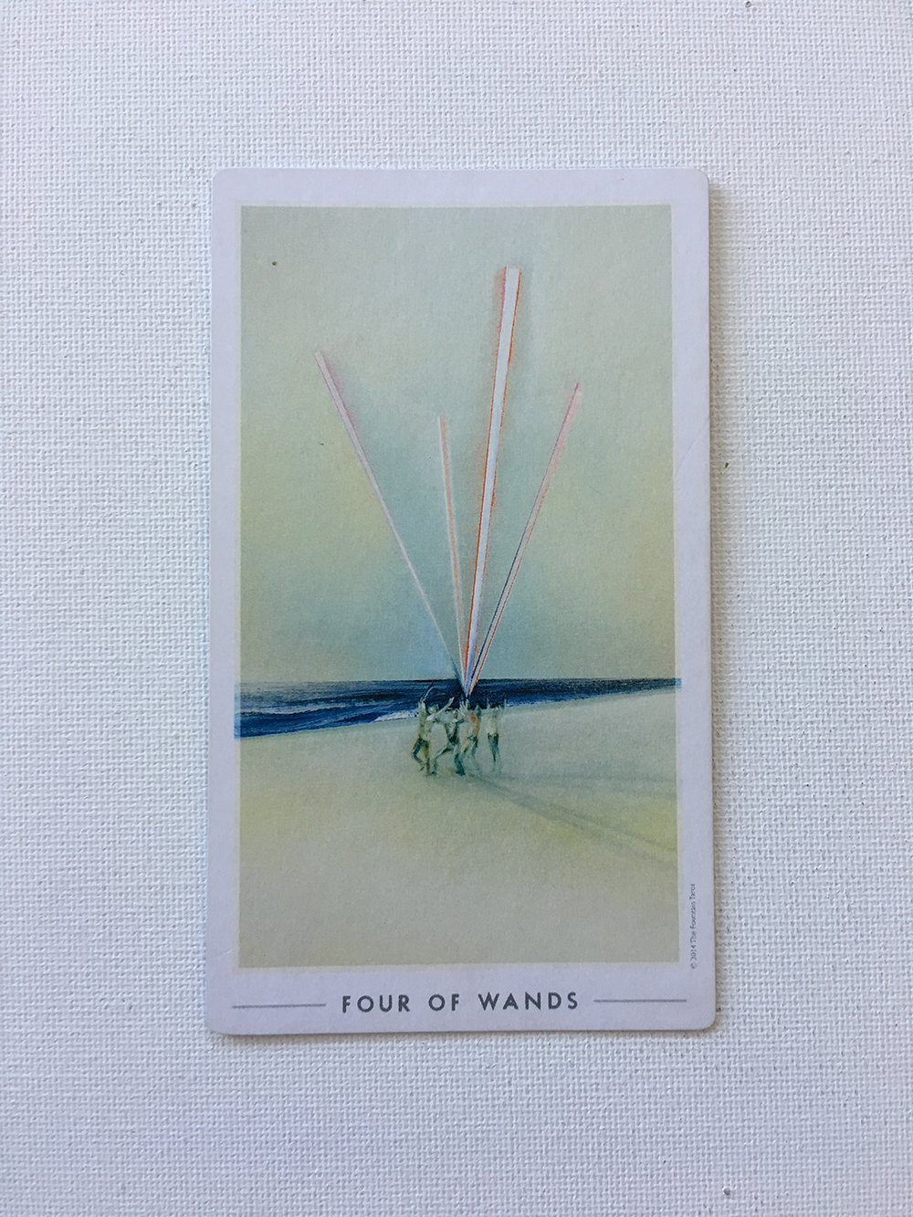 Four of Wands.