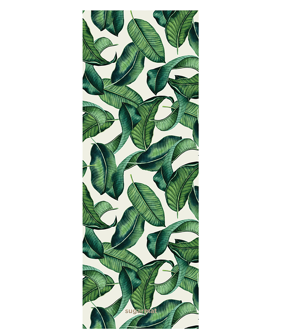 The Travel Mat in Tropical Leaf ($69).