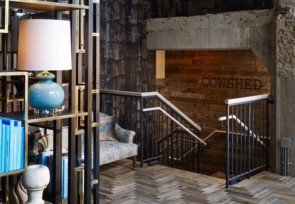 Cowshed Spa at Soho House Chicago.