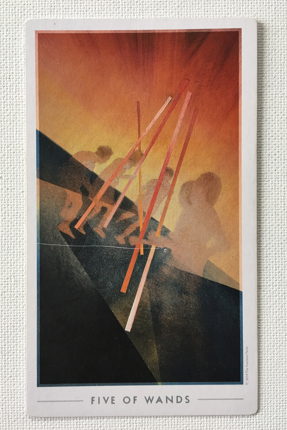 Five of Wands.