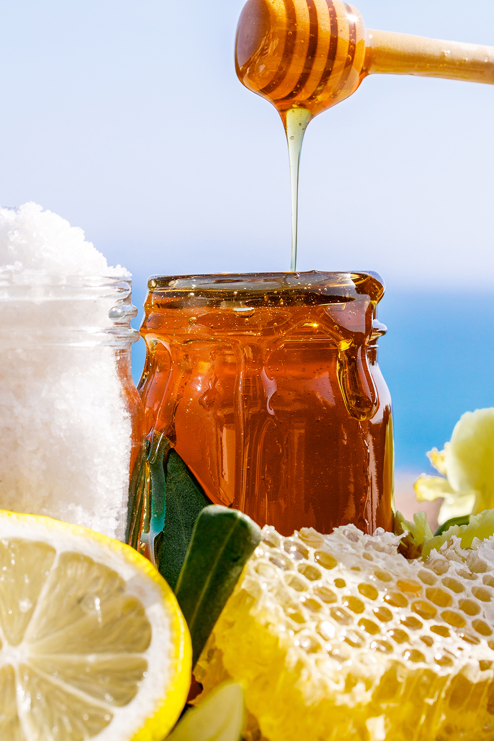 The Honey Body Bliss treatment was inspired by the resort's executive chef.
