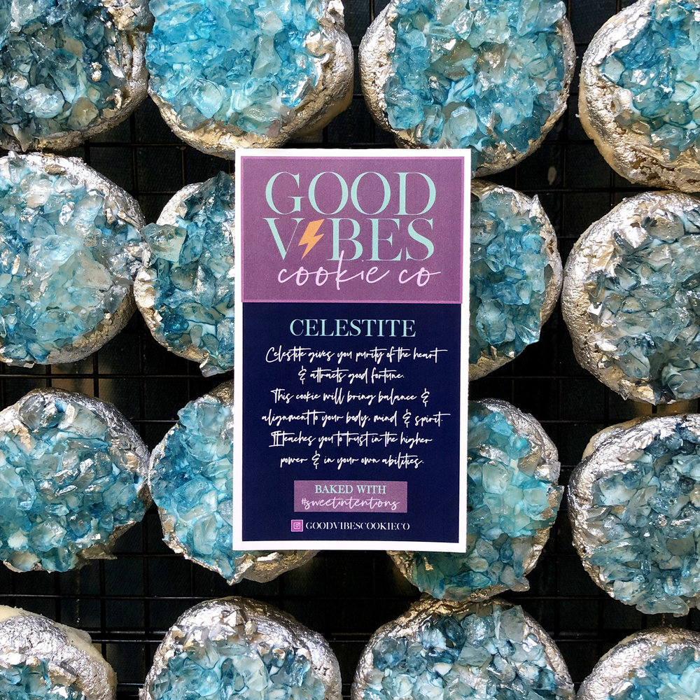 Her crystal cookies make the perfect gifts for any occasion.