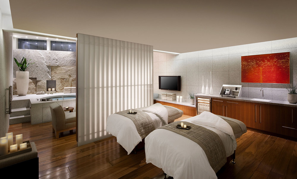 The Spa at ARIA Resort & Casino has partnered with Swiss skincare brand Valmont.