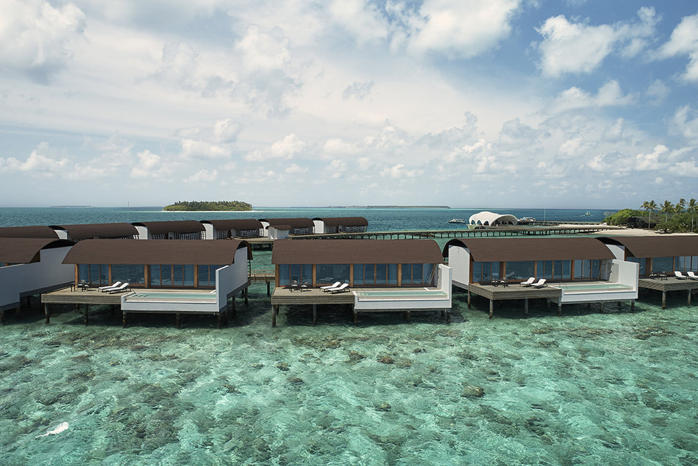 The Westin Maldives Overwater Suites.