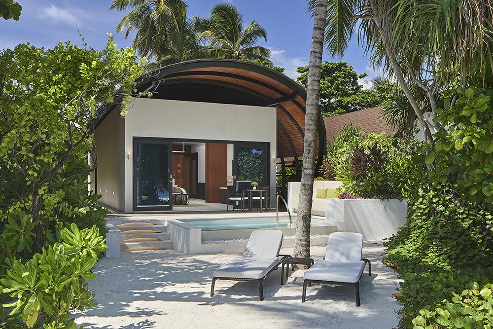 An Island Villa at The Westin Maldives.