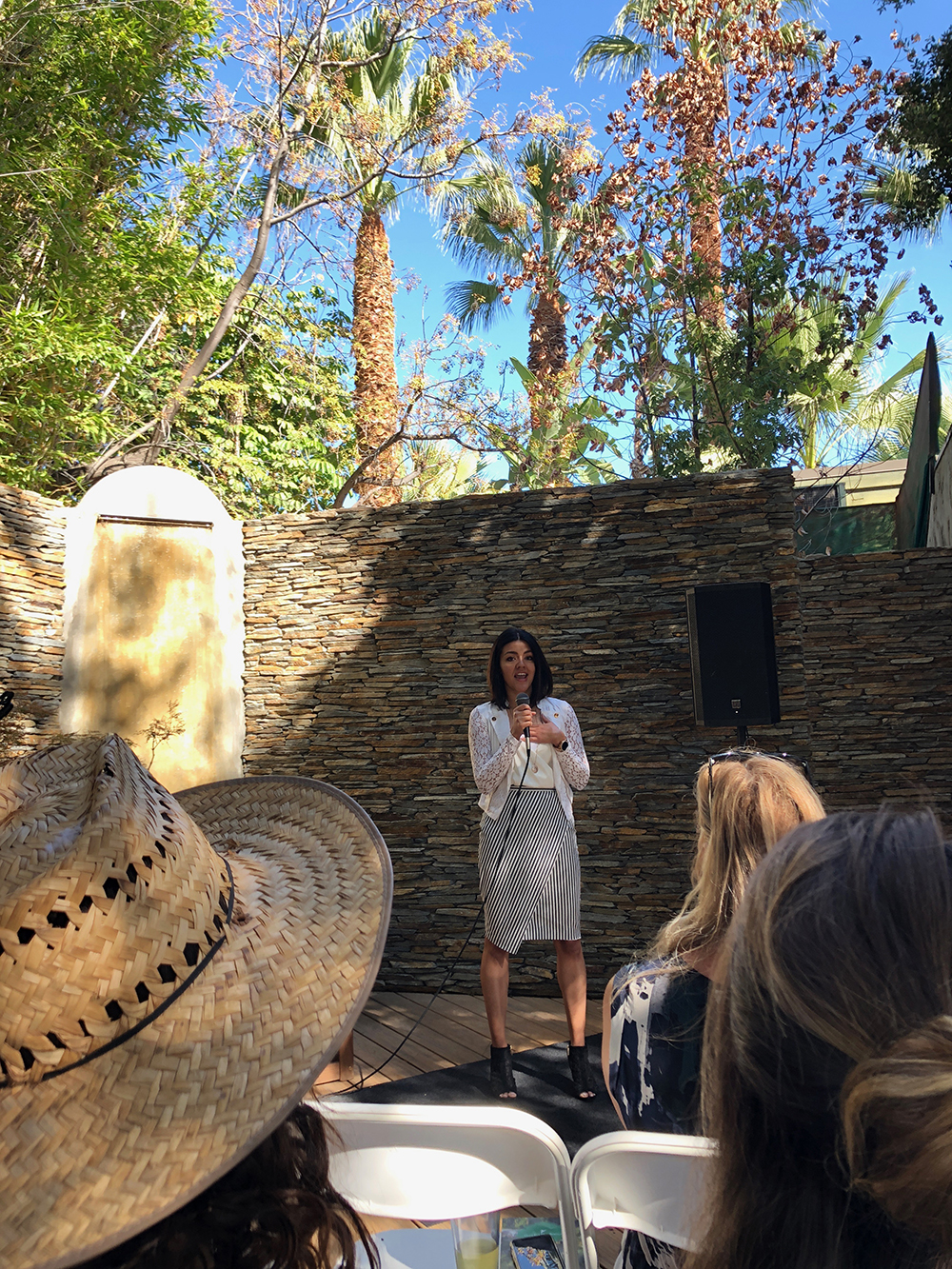 CBD Care Garden Founder/CEO Vanessa Marquez discussed the benefits of CBD and dispelled some common myths surrounding it. [Image courtesy of The Spa Insider]
