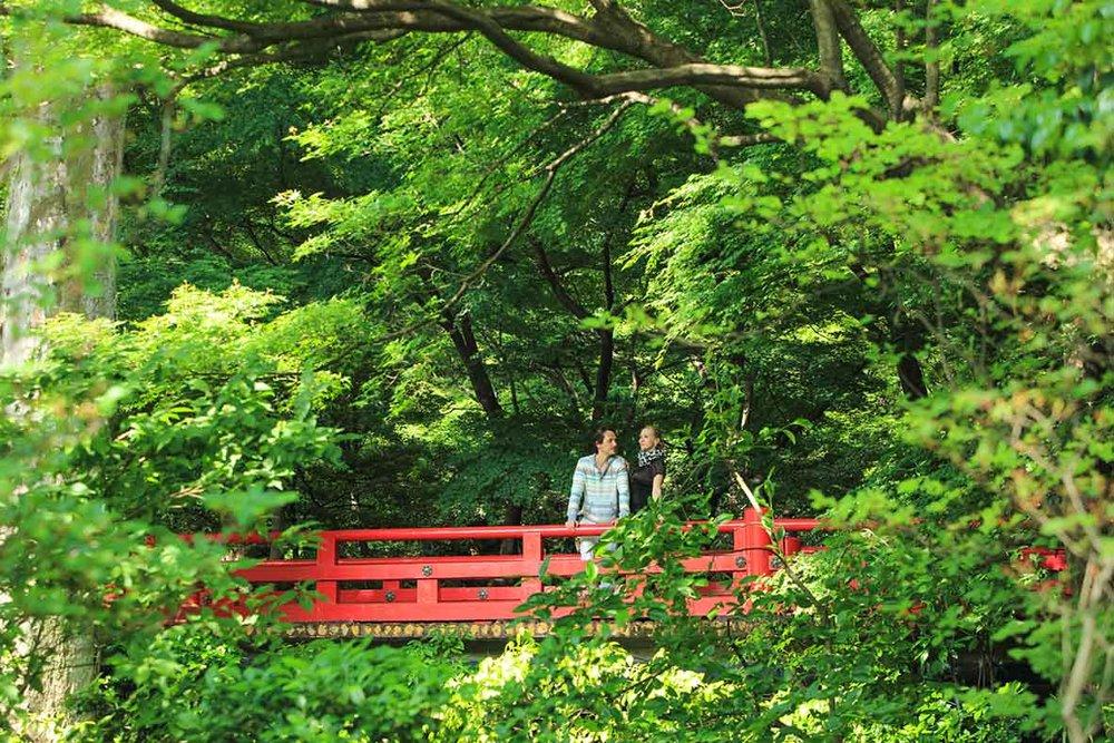 Hotel Chinzanso's Tokyo Garden.