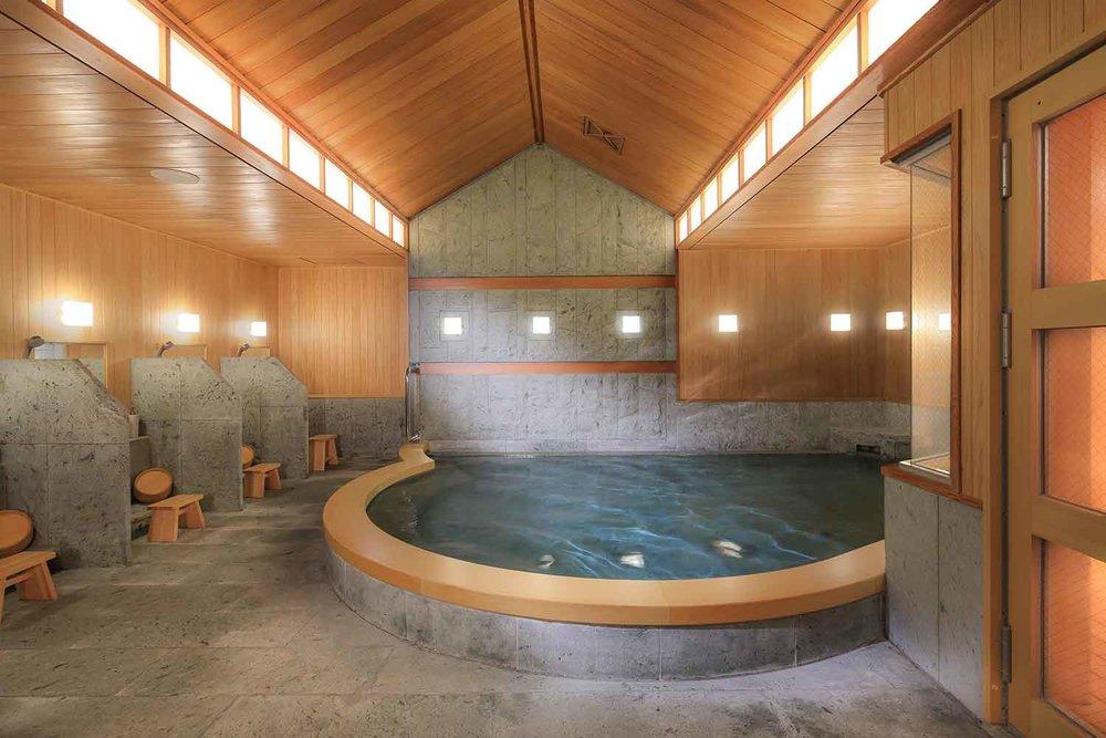 Hotel Chinzanso Tokyo's Onsen Hot Spring Bath.
