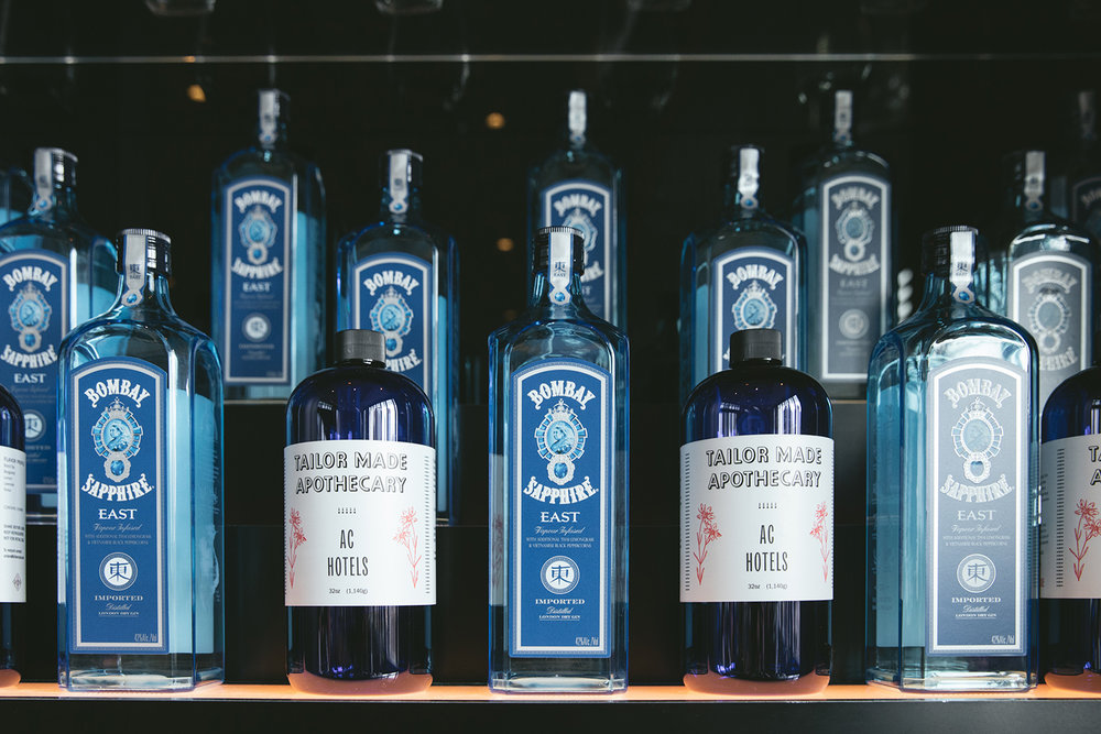 AC Hotels have partnered with Bacardi to create a unique tonic recipe using exotic ingredients from all over the world.