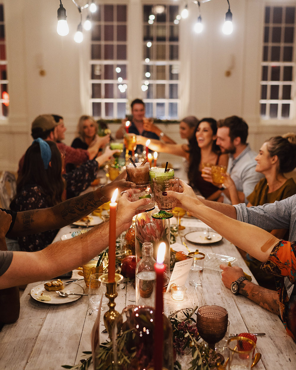 The Friendsgiving packages include overnight accommodations, a communal culinary experience, and more.