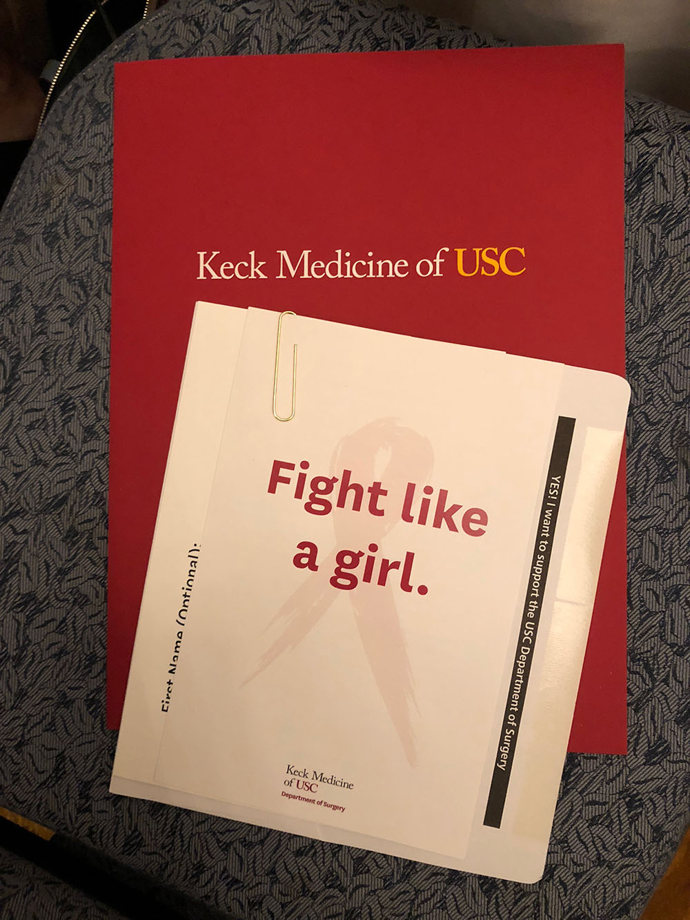 The panel featured the best and brightest women of Keck Medicine of USC who shared their perspectives and answered questions about breast cancer care.