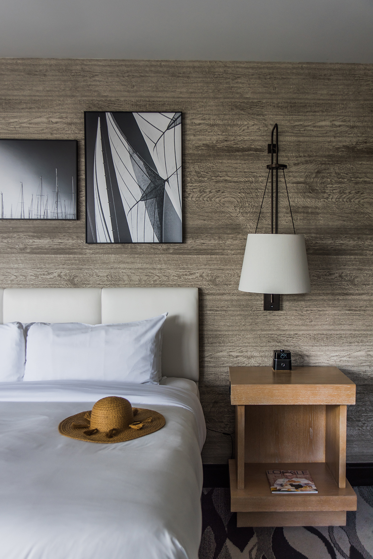 A room in Hotel Republic in San Diego.
