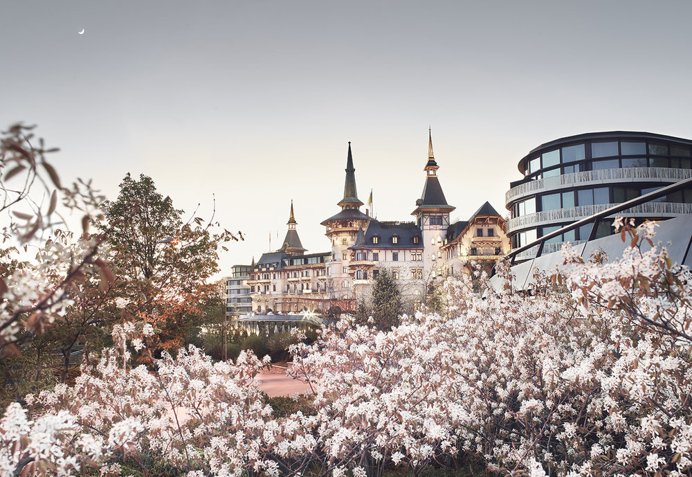 The Dolder Grand is a five-star hotel in Switzerland that is also home to an award-winning spa.