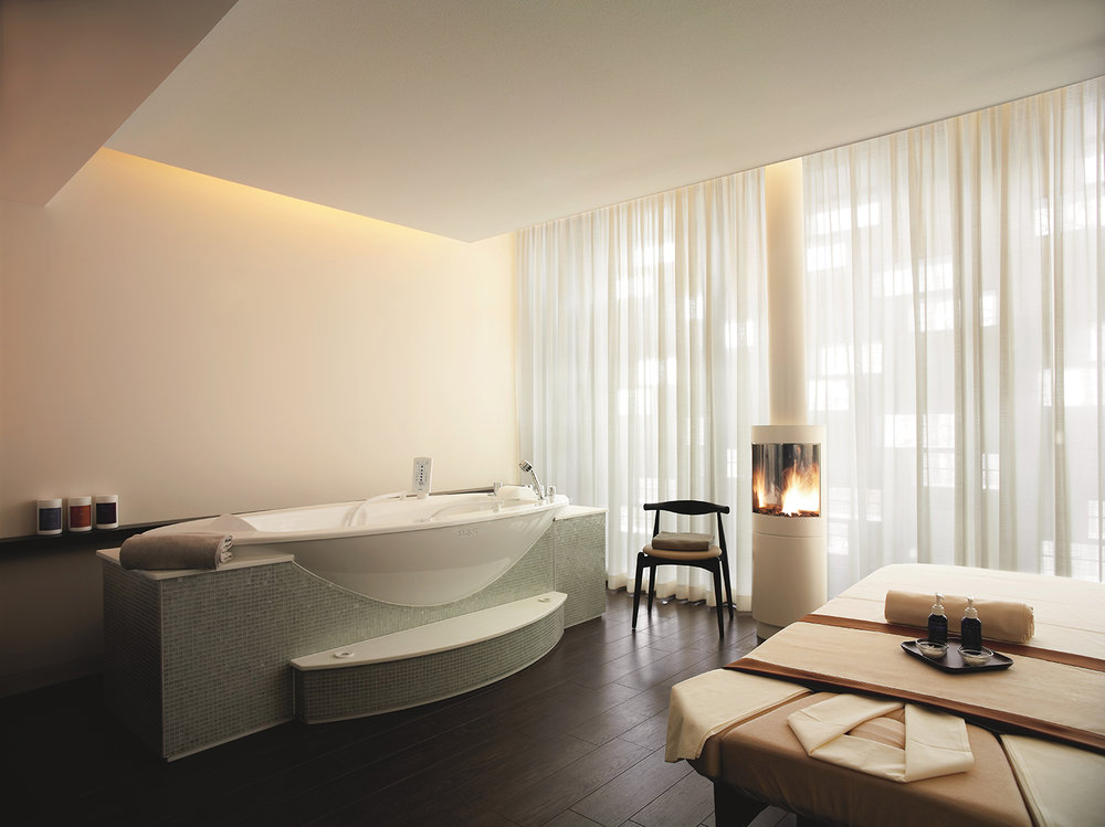 The spa has several luxurious Spa Suites for ultimate relaxation.